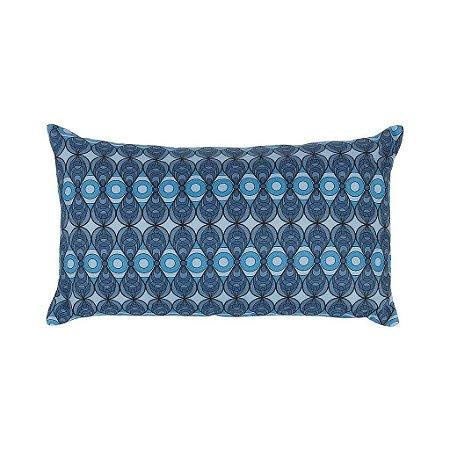 Almofada Azulejo Azul 30x50