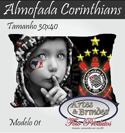 Almofadas Personalizadas Corinthians  Clique para ver outros modelos