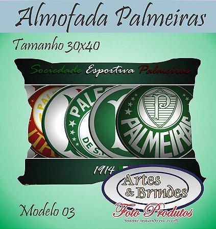 Almofadas Personalizadas Palmeiras    Clique para ver outros modelos