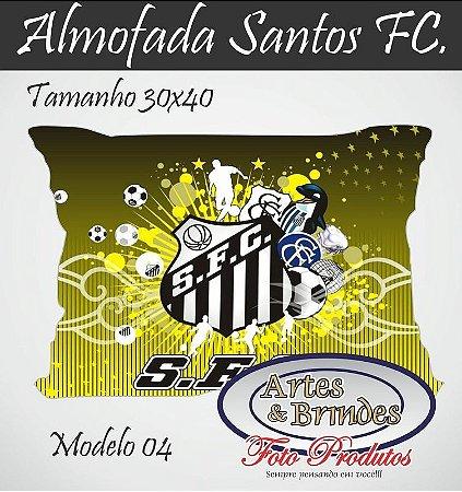 Almofadas Personalizadas Santos Clique para ver outros modelos