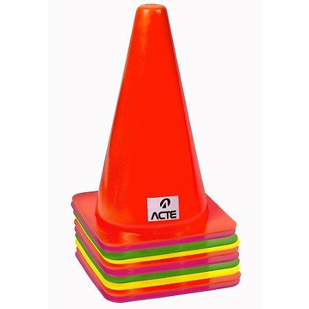 Cones de agilidade com 10 unidades T73