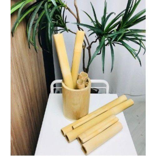 Kit Bambuterapia 6 Bambu Modelador Corporal/facial Estek