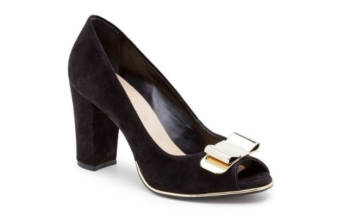 Peep Toe Preto Essential