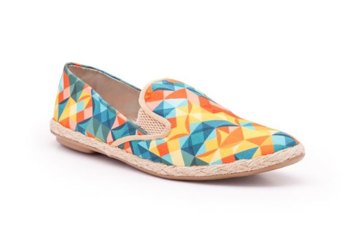 Slip-on Geometrico Haute Melon