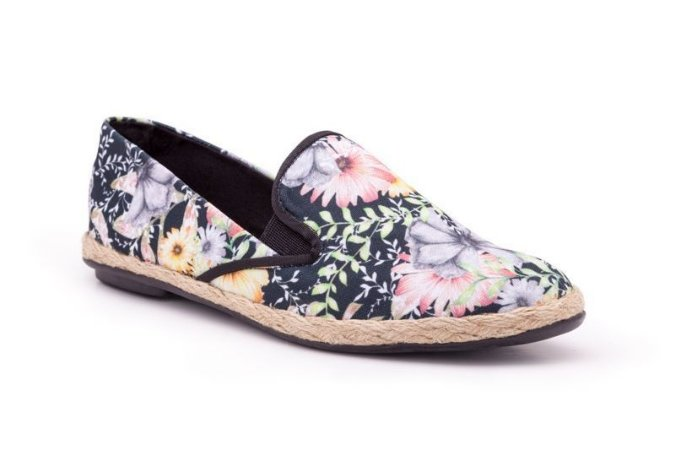 Slip-on Estampado Floral ROSE BUD