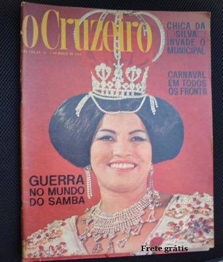 Revista O Cruzeiro de 7 de Março de 1964