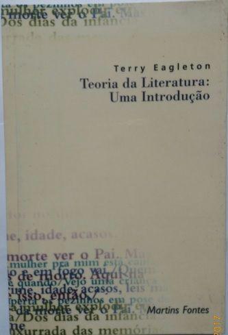 Teoria da Literatura: Uma Introdução /Terry Eagleton / Frete Grátis
