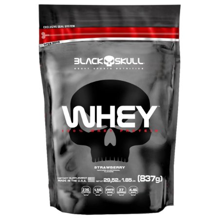 Whey 100% Black Skull (837g) - Black Skull