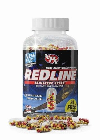 Redline Hardcore (144caps) - VPX Sports