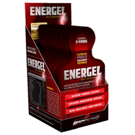 Energel Outdoors (10 sachês) - Body Action