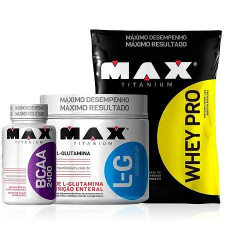 Combo Ganho de Massa Muscular - Max Titanium