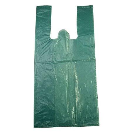Sacola Reciclada Verde PEBD c/5kg - 33x45
