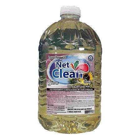 Lava Roupas Clear 5 Litros Net Clean