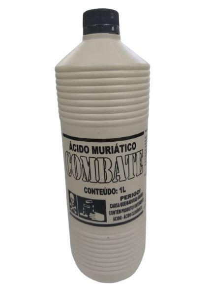 Ácido Muriático COMBATE 1 Litro