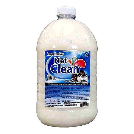 Lava Roupas Côco Talimpo Net Clean 5L
