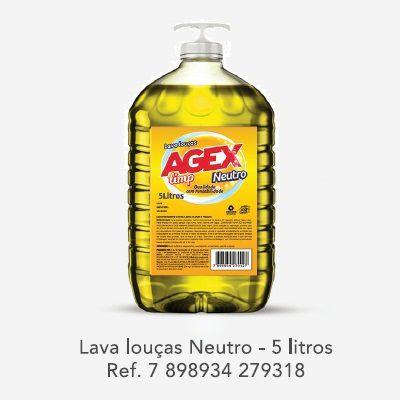 Detergente Neutro AGEX, 5L