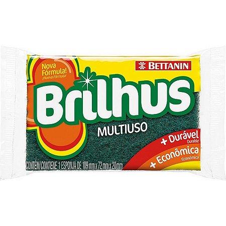 Esponja Multiuso BETTANIN Brilhus 109x72x20mm