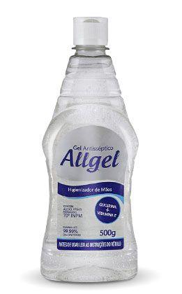 Álcool Gel Antisséptico 70º ALLGEL Itajá 500g