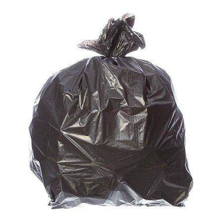 Saco Lixo Preto 55x62cm RAVA 60 Litros c/100