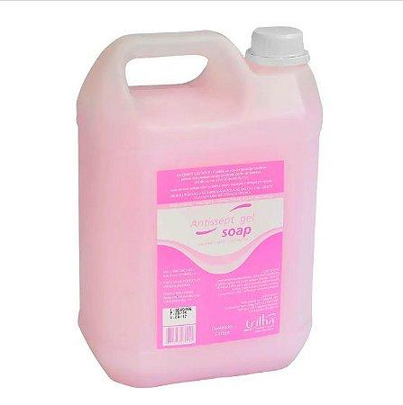 Sabonete Líquido Antisséptico Gel Soap TRILHA 5 Litros