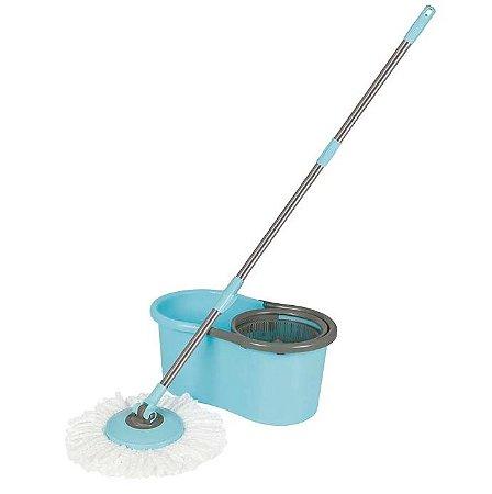 Mop Balde Esfregão MOR Limpeza Prática 13 Litros