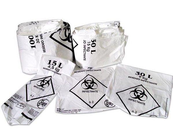 Saco Lixo Hospitalar 93x103cm 200L Rava