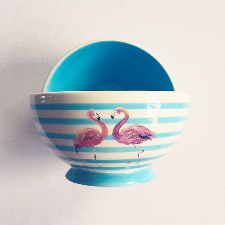 BOWL OU TIGELA FLAMINGO