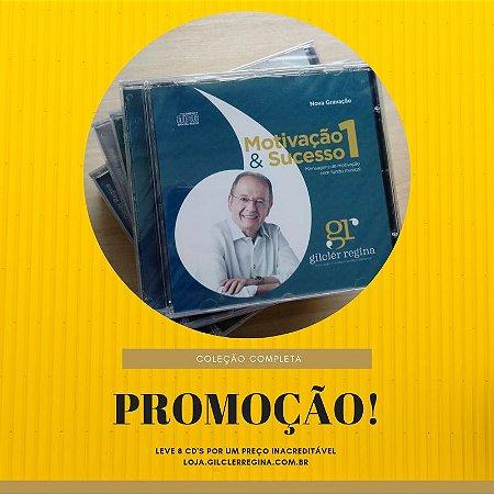 COLEÇÃO COMPLETA - 8  CD's + FRETE GRÁTIS