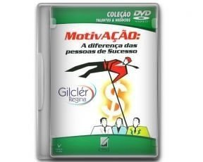 """DVD """"Motivação - A diferença das pessoas de Sucesso"""""""