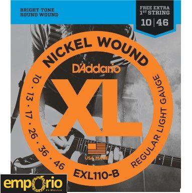 Encordoamento Daddario 010 - EXL110 - para Guitarra
