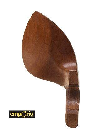 Queixeira de Violino 4/4 em boxwood com ferragem