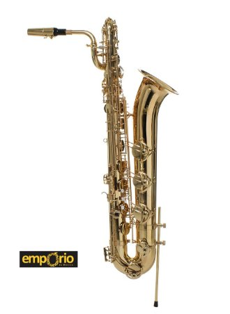 Saxofone Baritono Schieffer - Laqueado - Lá grave