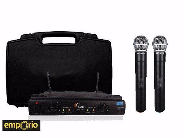 Microfone Kadosh sem fio/ 402