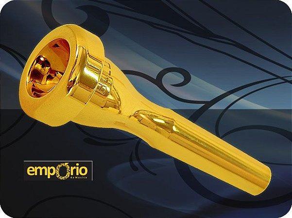 Bocal para Trompete JC Custom Mod. B6 XLT/ Gold