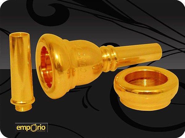 Bocal para Trombone JC Custom Mod. 6 -1/2 - Anatomic
