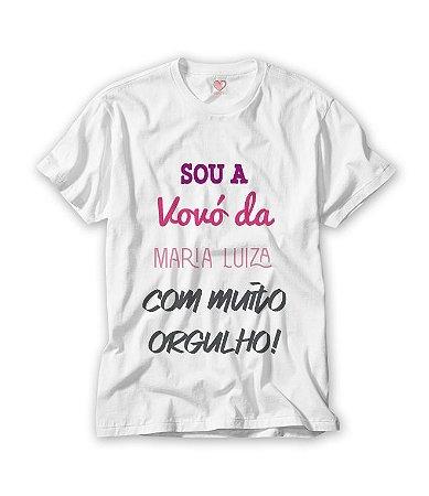Camiseta Vovó com Orgulho