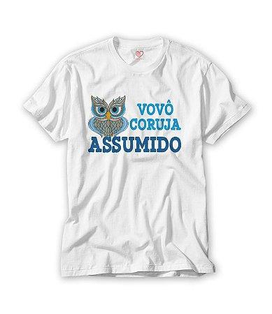 Camiseta Vovô Coruja Assumido