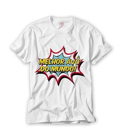 Camiseta Melhor Avô do Mundo