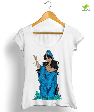 Camiseta Iemanjá, Rainha do mar