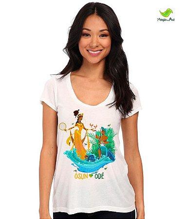 Camiseta Oxum e Odé