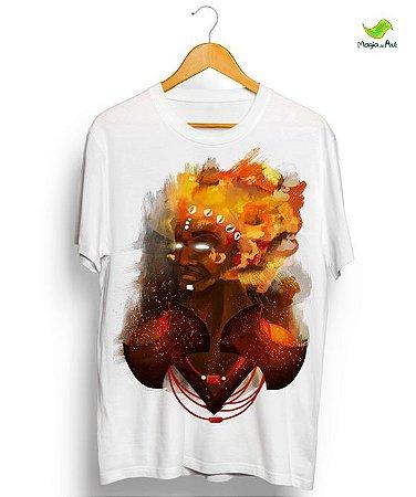 Camisetas Xangô, o senhor do fogo santo