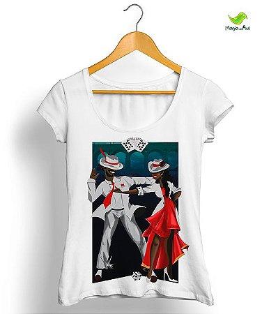 Camisetas - SEU ZÉ PELINTRA E MARIA NAVALHA
