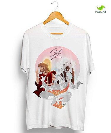 Camiseta - Jesus e Oxalá, Srs da PAZ