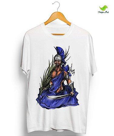 Camiseta - Ogum, o guerreiro do Mariwô