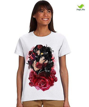 Camiseta - Pombagira, rainha das rosas