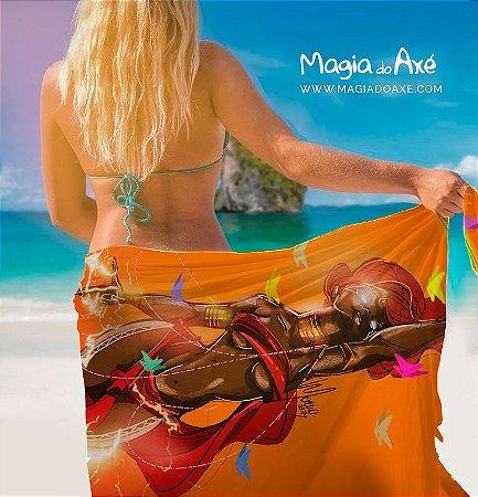 Canga de praia - Oyá Iansã