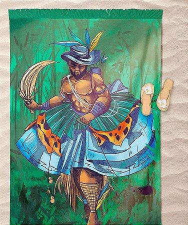 Canga de praia - Oxóssi, o caçador encantado