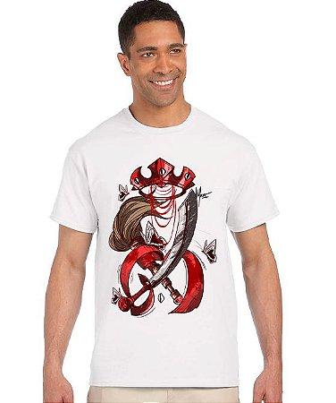 Camiseta Vintage - Armas de Iansã em algodão