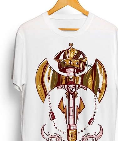 Camiseta de algodão - Ferramentas de Xangô Vintage
