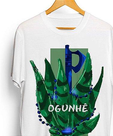 Camiseta de algodão - Sete espadas de Ogum Vintage
